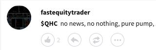 QHC Stock Twits