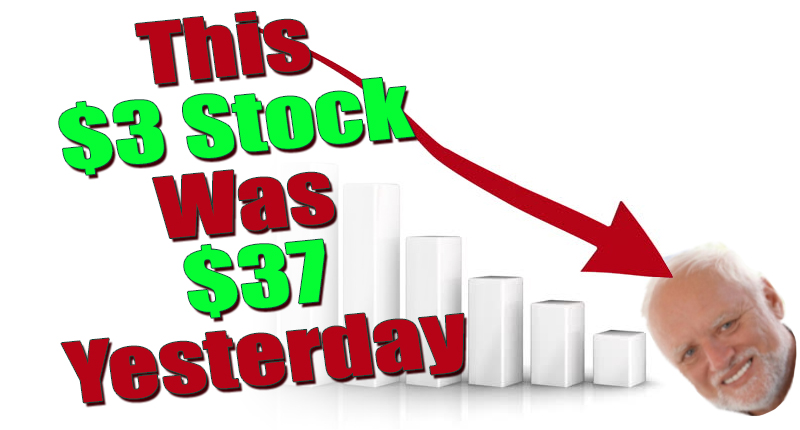 This Penny Stock Was $37 Yesterday | PennyStocks.com
