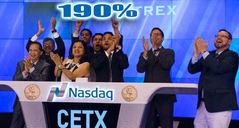 cetx penny stock Cemtrex stock