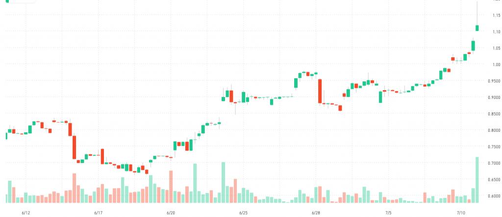 Robinhood penny stock NGD New Gold
