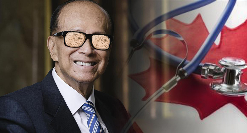 healthcare penny stock li ka shing