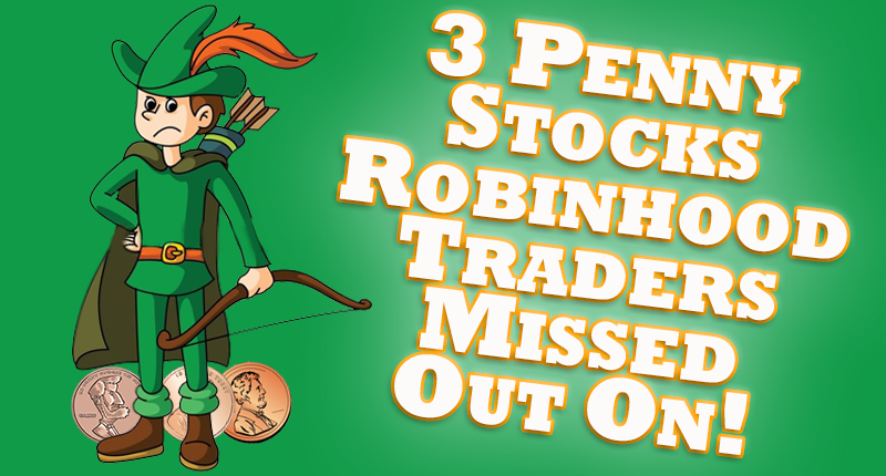 penny stocks robinhood august