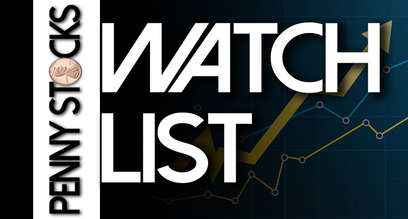 penny stocks watch list