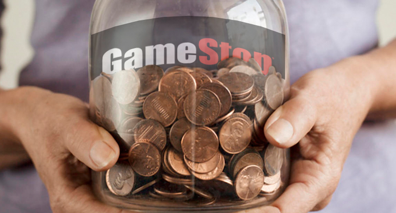 penny stocks to buy sell GameStop GME