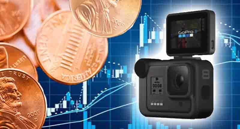penny stocks to buy sell GoPro GPRO