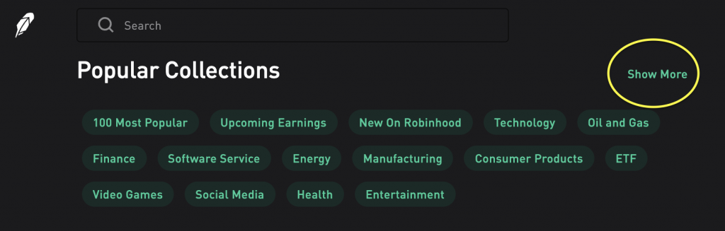 popular penny stocks on Robinhood today