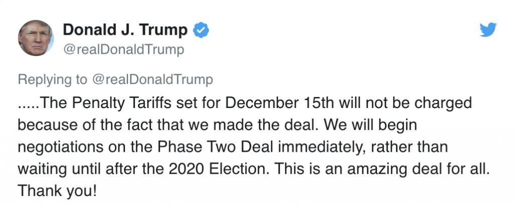 penny stocks President Trump trade deal