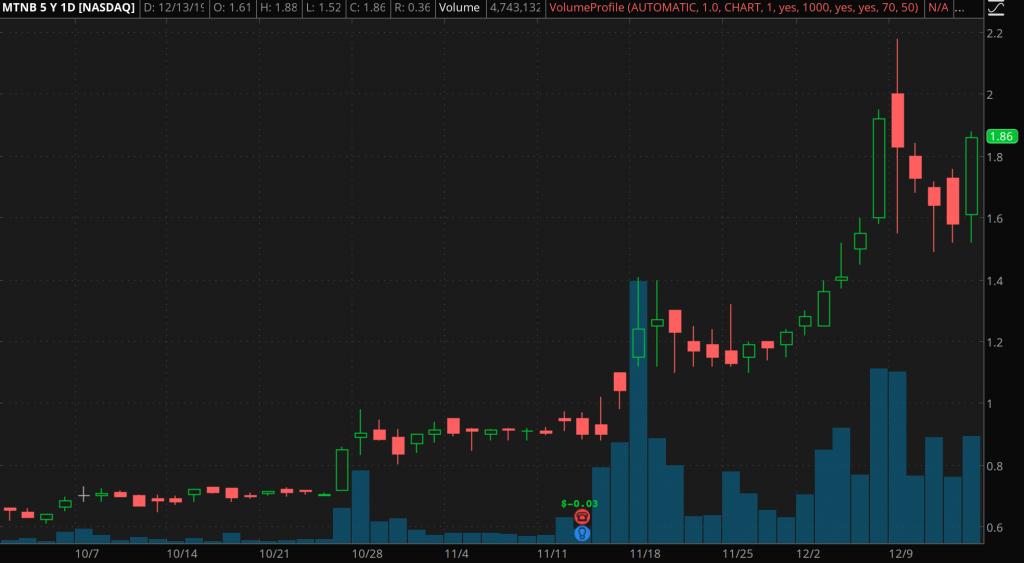 penny stocks on Robinhood Matinas Biopharma Holdings (MTNB)