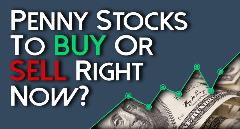 penny stocks to buy sell right now