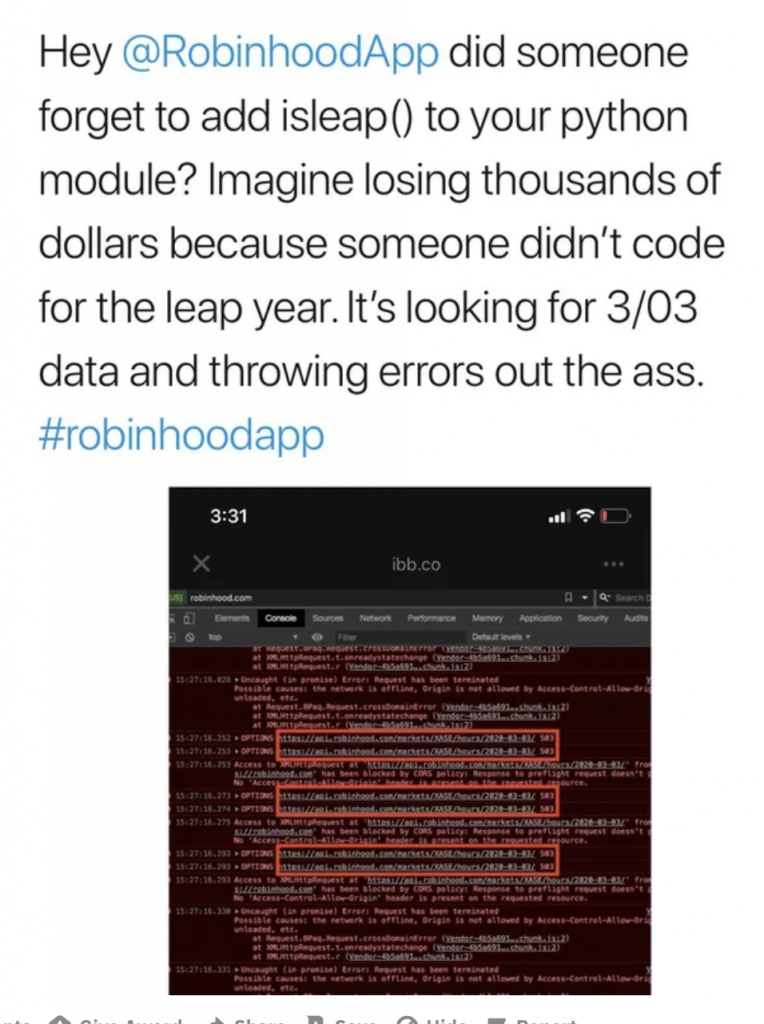 Twitter Reddit Robinhood