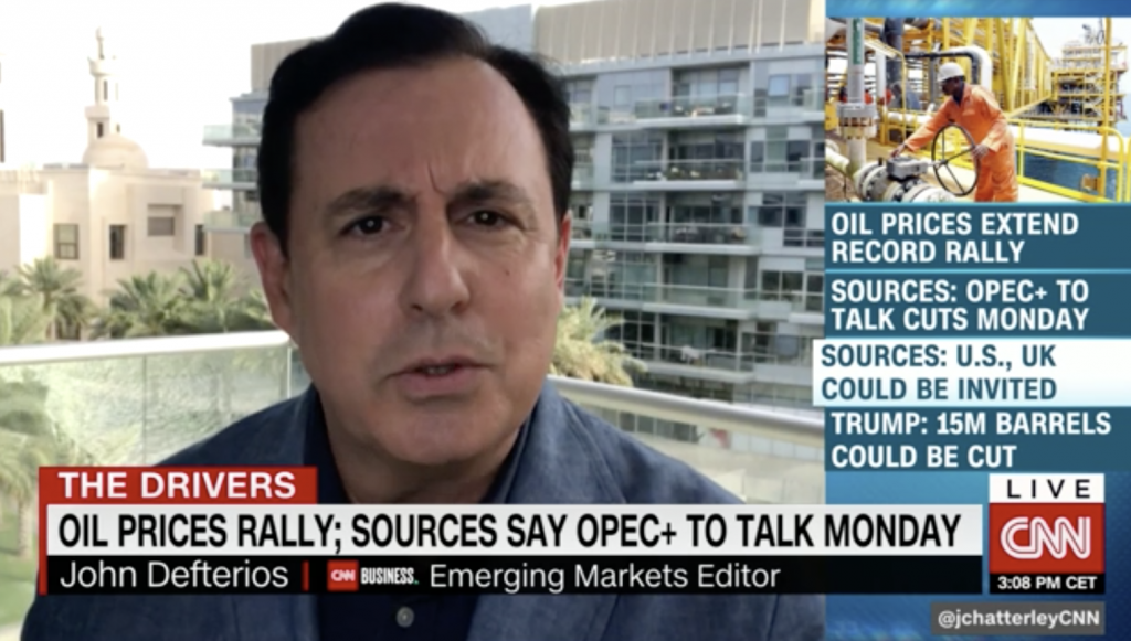 OPEC Meeting CNN Oil and Gas Penny Stocks April 2020