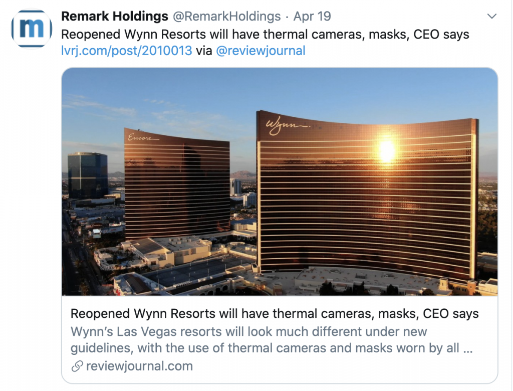 Remark Wynn MARK stock