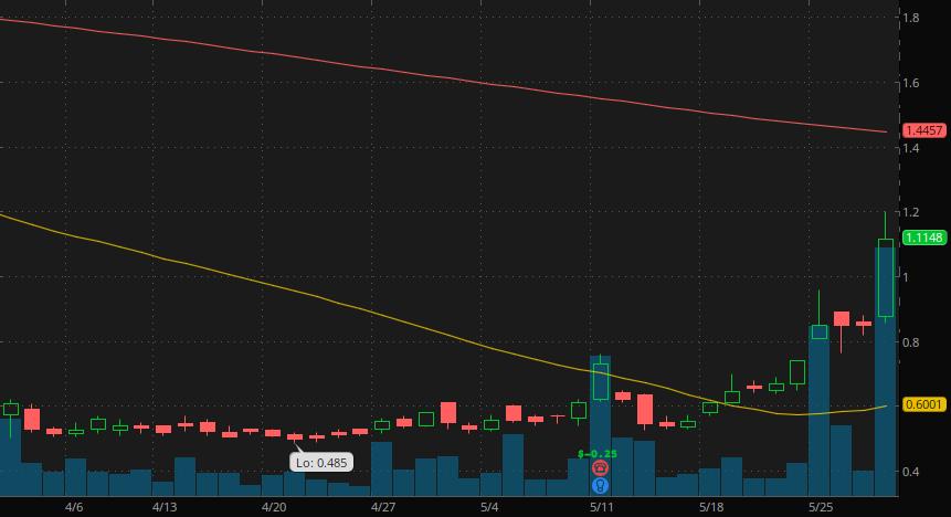 best penny stocks to watch Nabriva Therapeutics (NASDAQ:NBRV)