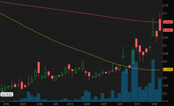 penny stocks on robinhood webull $4 Kitov Pharma (KTOV Stock)