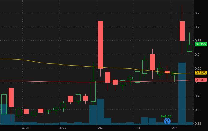penny stocks on robinhood webull $4 Oragenics Inc. (OGEN Stock)