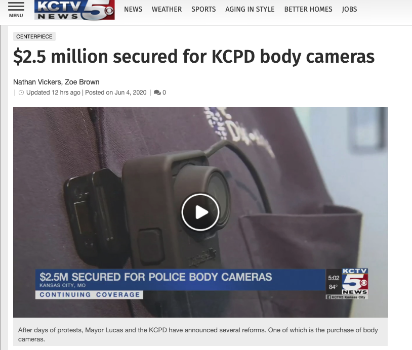 DGLY stock Kansas bodycam report
