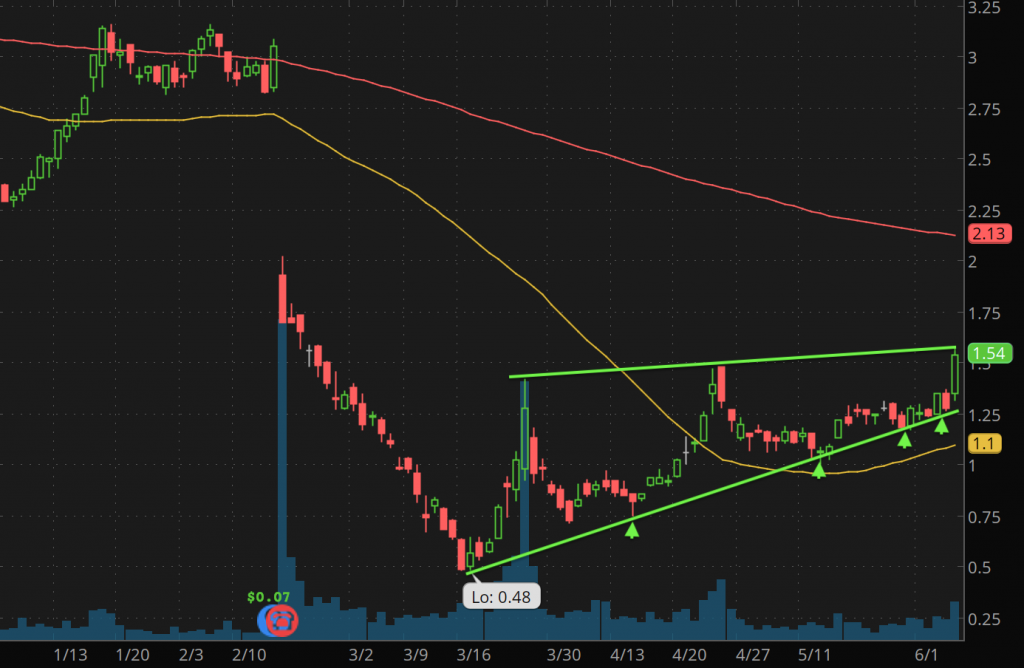 best penny stocks to watch Groupon Inc. (GRPN stock chart)