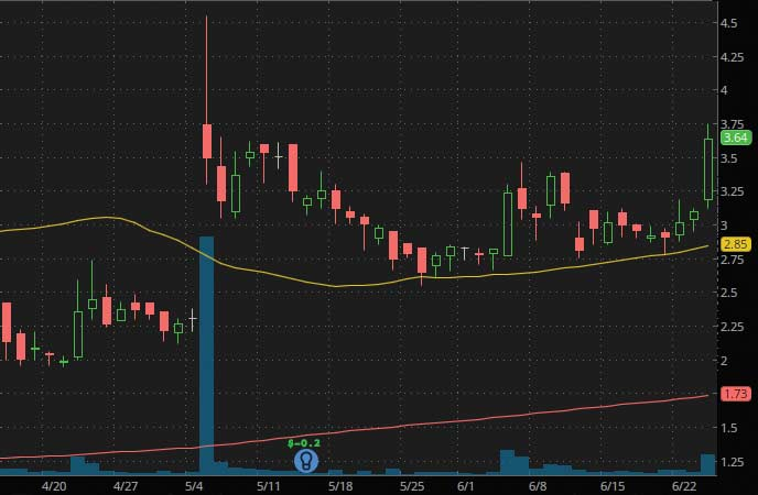 penny stocks to trade fade Genprex Inc. (GNPX stock chart)