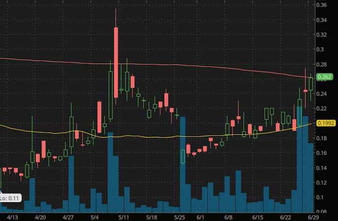 robinhood penny stocks to watch Zomedica Pharmaceuticals (ZOM Stock Chart)