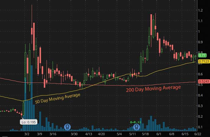 top penny stocks to watch Heat Biologics Inc. (HTBX Stock Chart)