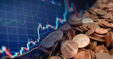 best penny stocks to watch chart blue black