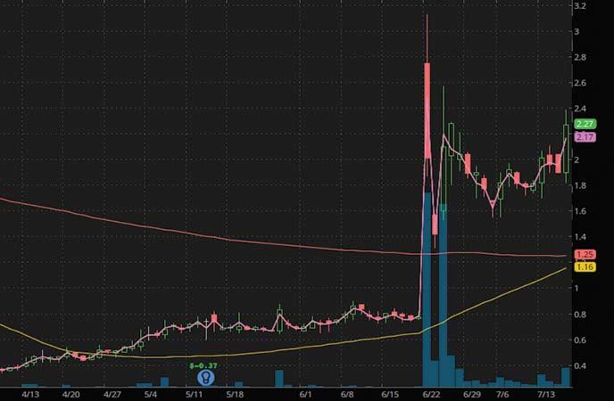 penny stocks to buy sell covid SINTX Technologies (SINT stock chart)