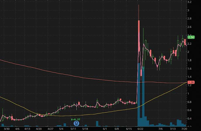 penny stocks to watch SINTX Technologies (SINT stock chart)