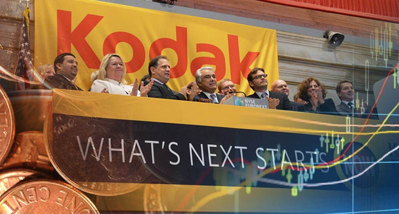 Penny Stock Eastman Kodak Climbed Over 265 In A Day Now What