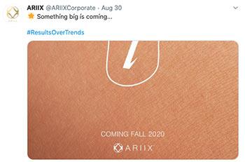 ARIIX tweet