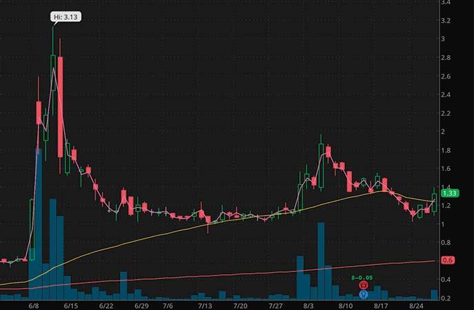 penny stocks to buy now avoid IZEA Worldwide Inc. (IZEA stock chart)