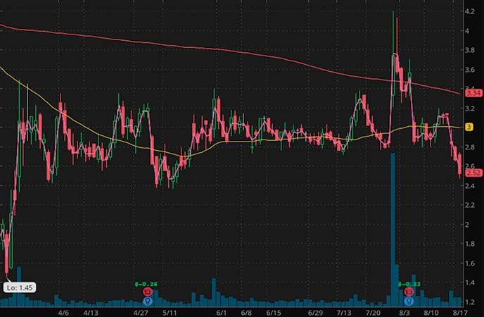 plasma penny stocks to watch ADMA Biologics Inc. (ADMA stock chart)