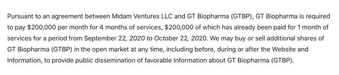GTBP Disclaimer Sep-Oct