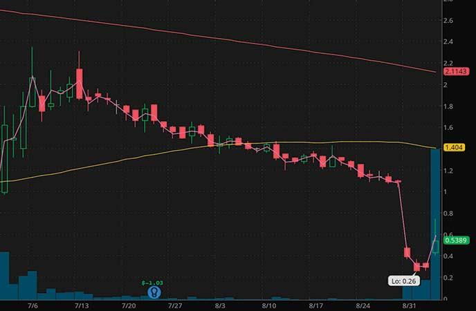 penny stocks to buy avoid Shiloh Industries Inc. (SHLO stock chart)