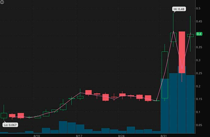 penny stocks to buy avoid Worksport Ltd. (WKSP stock chart)