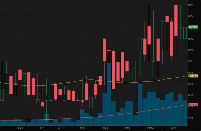 penny stocks to watch today GT Biopharma Inc. (GTBP stock chart)