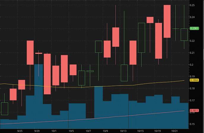 top biotech penny stocks to watch GT Biopharma Inc. (GTBP stock chart)