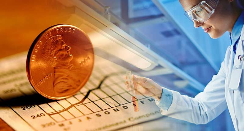 top biotech penny stocks today