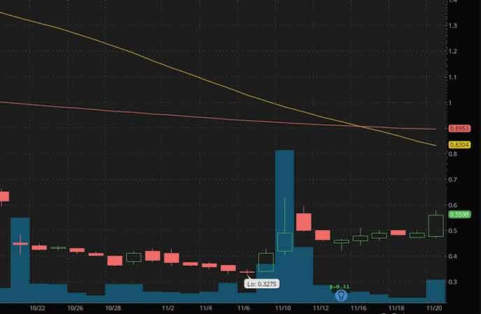 penny stocks to buy analyst forecast Zosano Pharma Corp. (ZSAN stock chart)