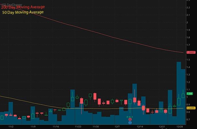 penny stocks to buy SeaChange International Inc. SEAC stock chart