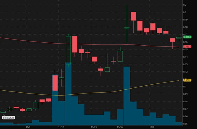 robinhood penny stocks to buy Zomedica Corp. (ZOM stock chart)