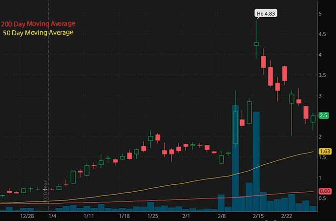 best penny stocks to buy Torchlight Energy Resources Inc. TRCH stock chart