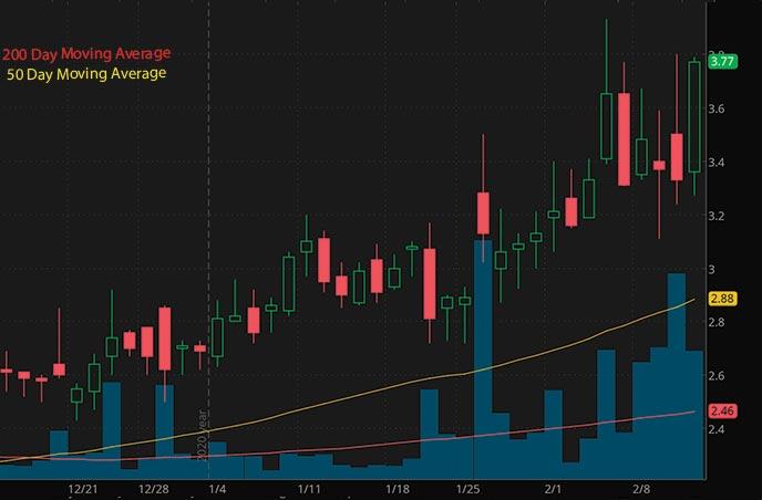 penny stocks to buy robinhood Phio Pharmaceuticals Corp. PHIO stock chart