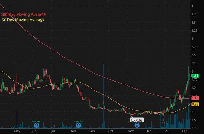 penny stocks to buy robinhood Predictive Oncology Inc. POAI stock chart