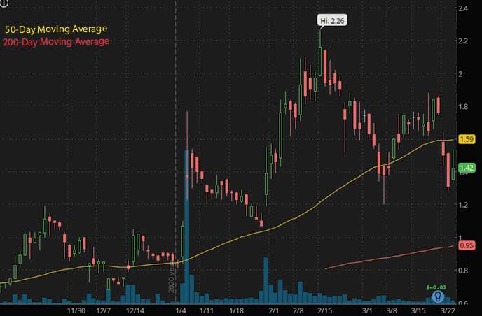 PRQR stock biotech stocks to watch 9 Meters Biopharma NMTR stock chart