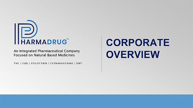 Pharmadrug Investor Presentation