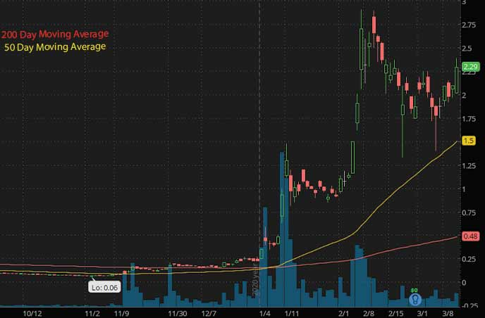 best penny stocks to buy Zomedica Corp. ZOM stock chart