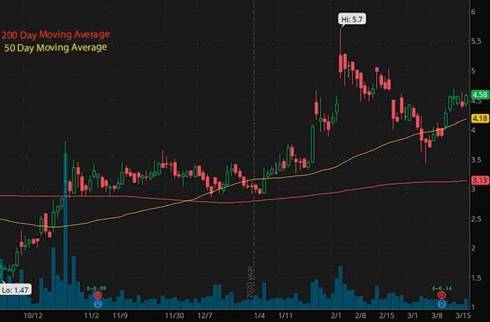 biotech penny stocks on robinhood to watch Selecta Biosciences SELB stock chart
