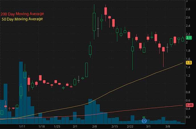 reddit penny stocks to buy avoid Zomedica Corp. ZOM stock chart