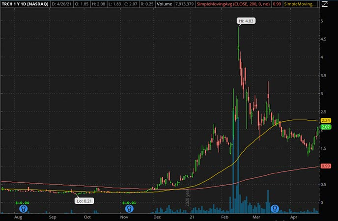 Penny_Stocks_to_Watch_Torchlight Energy Resources Inc. (TRCH Stock Chart)