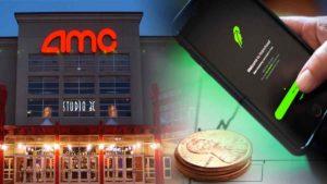robinhood penny stocks AMC